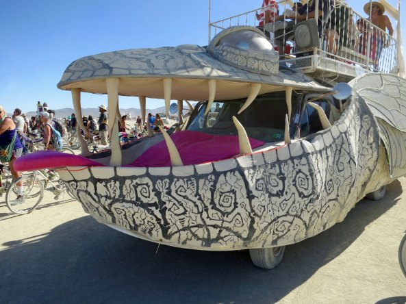 17 Big Bug Mutant Vehicle at Burning Man 2015