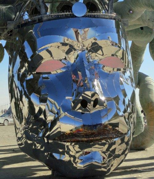 18 Medusa's face revealed at Burning Man
