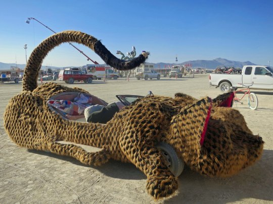 The Cat Car as seen from the side...
