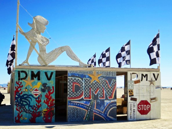 The Department of Mutant Vehicles processes hundreds of vehicles each year that are applying for the right to be driven on the Playa and in Black Rock City.
