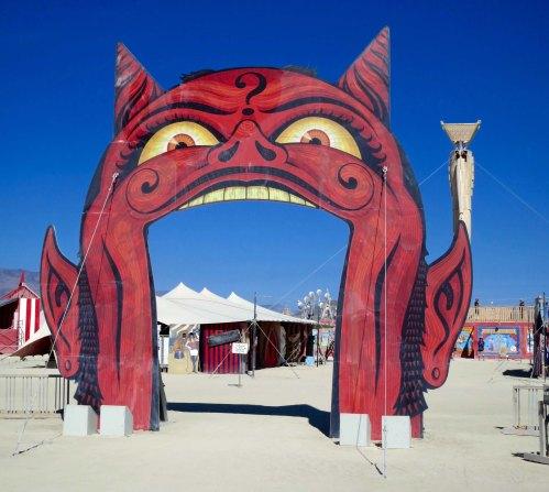 A devilish gateway into Burning Man 2015.