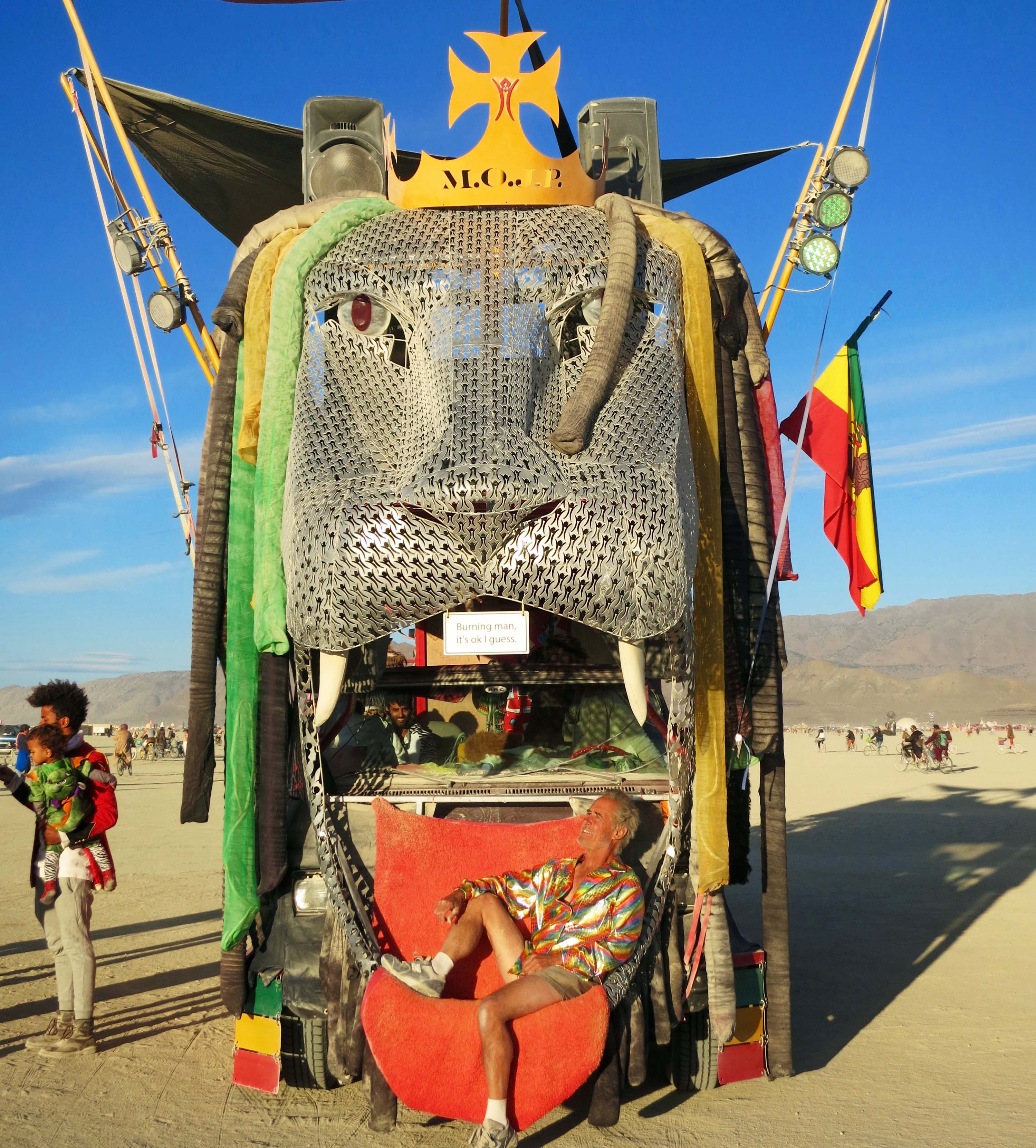 6 King of Beasts 2 Mutant Vehicle at Burning Man 2015