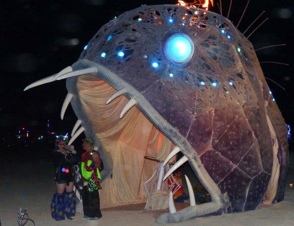 Illumacanth 1 at Burning Man 2015