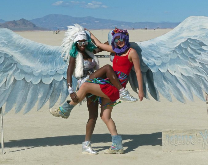 And some have wings, large wings.