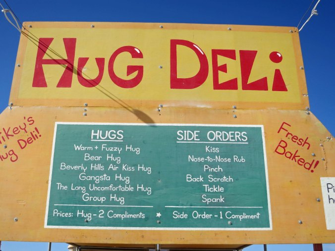 The options of what to do at Burning Man seem overwhelming. For, example, do you need a hug?