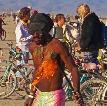 Burning Man People 6