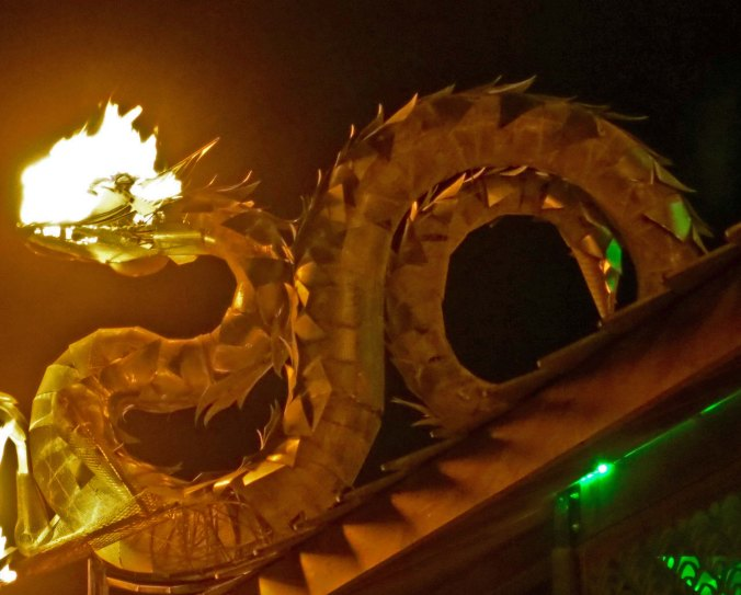 And a fire breathing dragon.