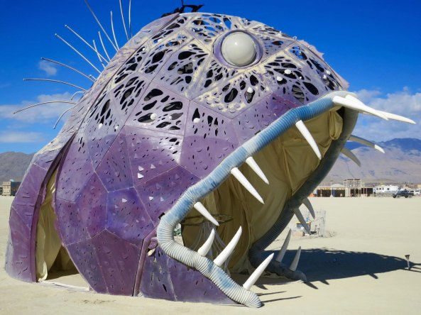 9 Illumancanth sculpture 4 at Burning Man 2015