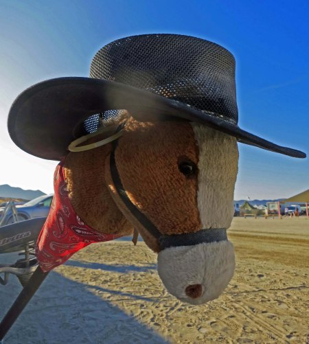 Burning Man bikes Horse with No Name