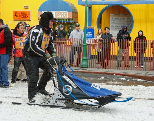 Racing sleds are engineered of speed...