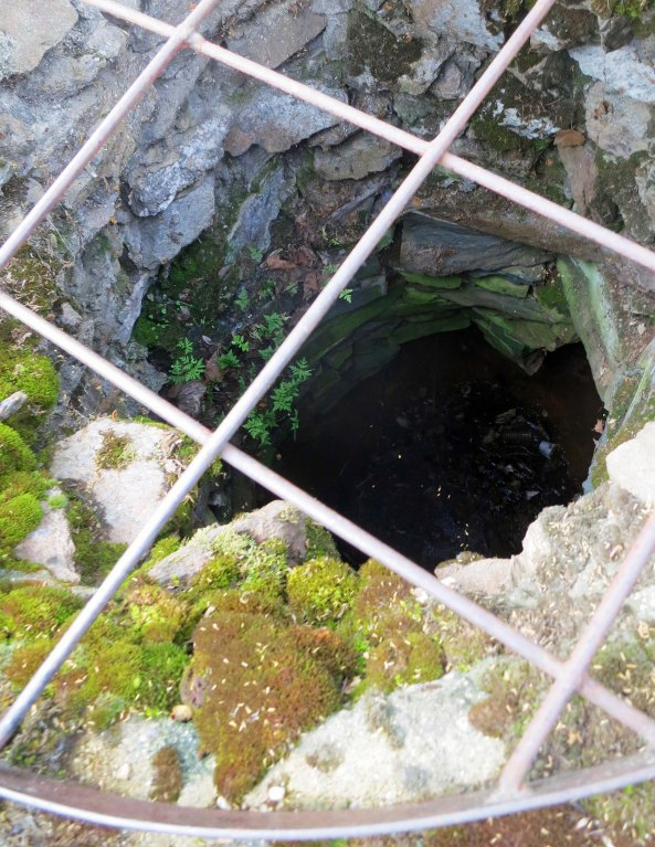 A photo of the well.