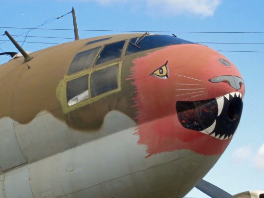 Castle Air Force Museum features over 60 vintage airplanes.