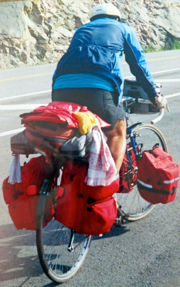 28 years ago, after wrapping up my part in increasing California's tobacco tax, I decided to go on a 10,000 mile bike trip around North America. Peggy and I are now redrawing the route.