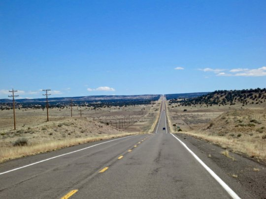 Do you have any idea how many remote, lonely roads there are in America and Canada. I found many of them on my bicycle. They did have a way of going on and on...