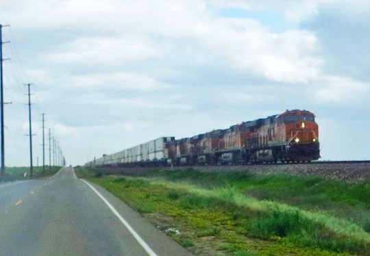 Train tracks meant trains, which I always considered an excuse to get off my bike and watch them pass.