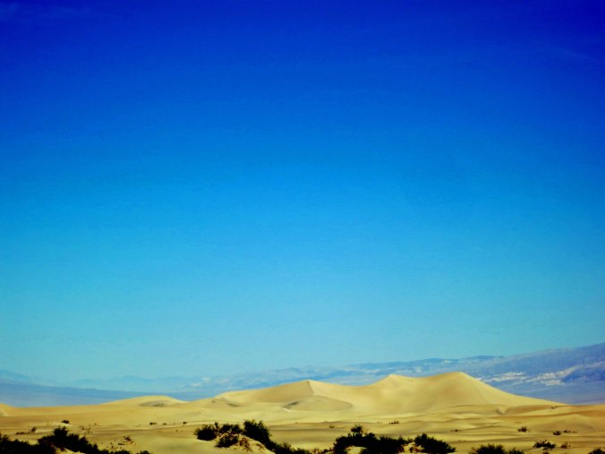 These gorgeous sand dunes are located next to Stove Pipe Wells.