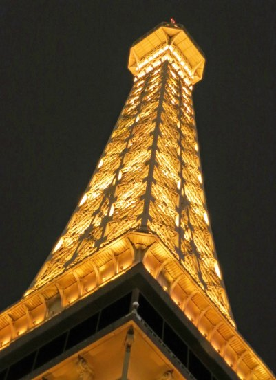 Today's emphasis is more on Las Vegas being a resort destination, somewhere you might take the family. Like to Paris for example...