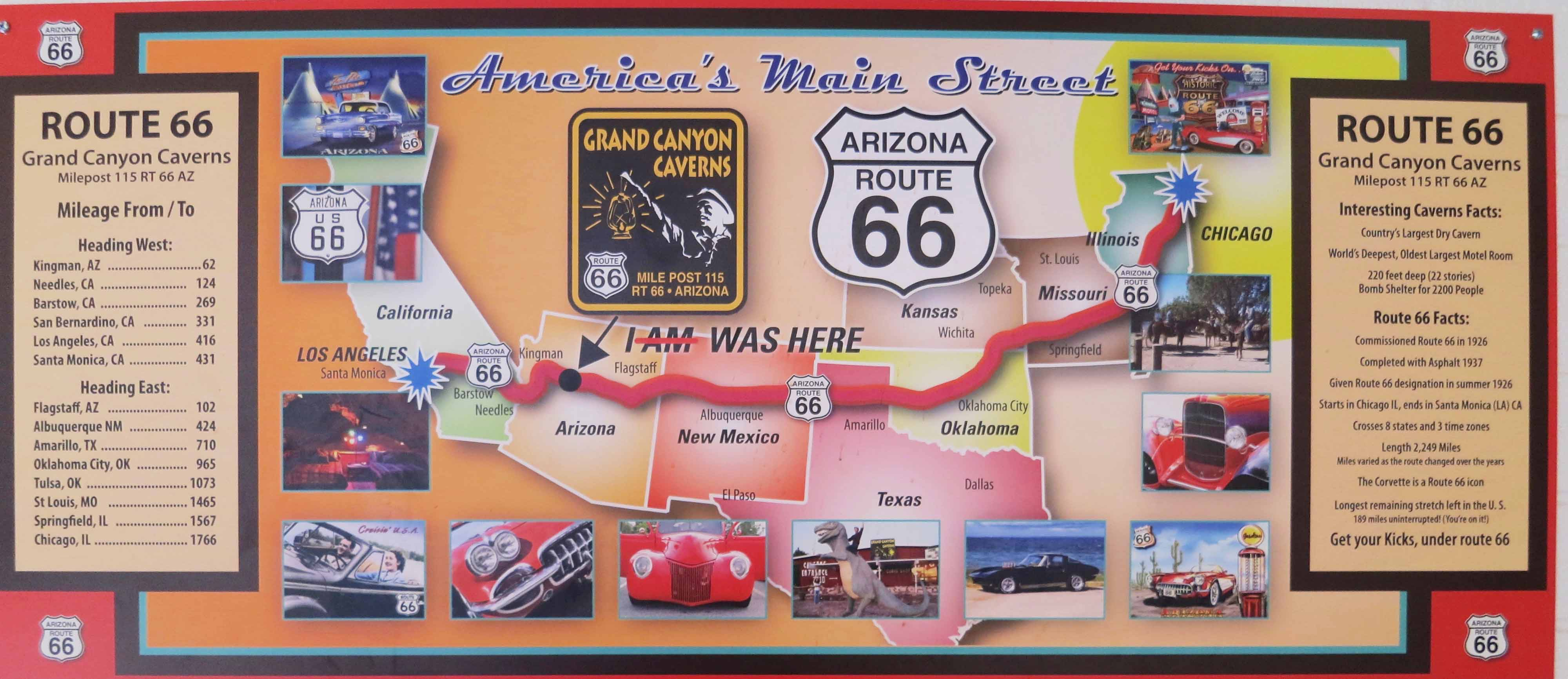 Diagram Collection Map Us States Route  Download More Maps - Map of us 66