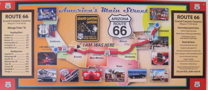 And this map showing historic Route 66.