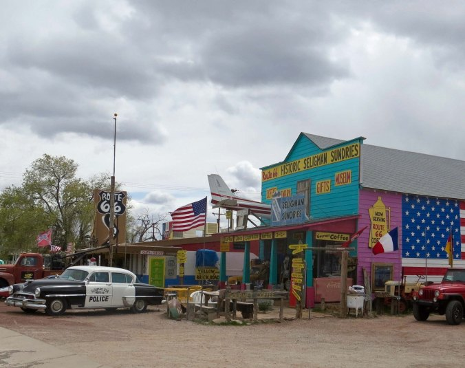 Here's another example of Seligman merchants struggling to make a profit off of their Route 66 heritage.
