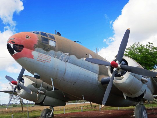The Curtis C 46D that flew over the Hump during World War II.
