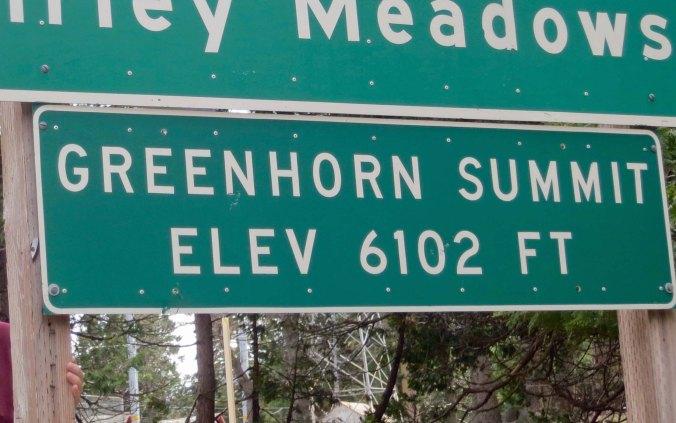 Greenhorn Summit