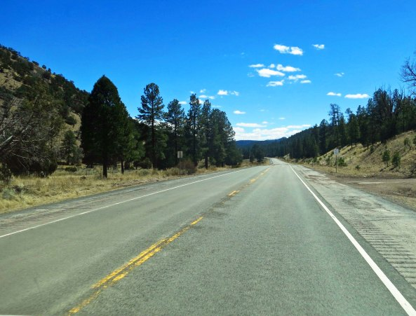 13 Off the summit on New Mexico Highway 60