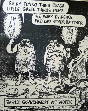 I'll conclude today's post with this cartoon I found in the museum (grin).