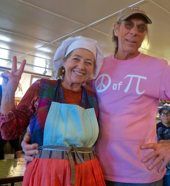 8 Kathy Knapp and Stan at Pie Town