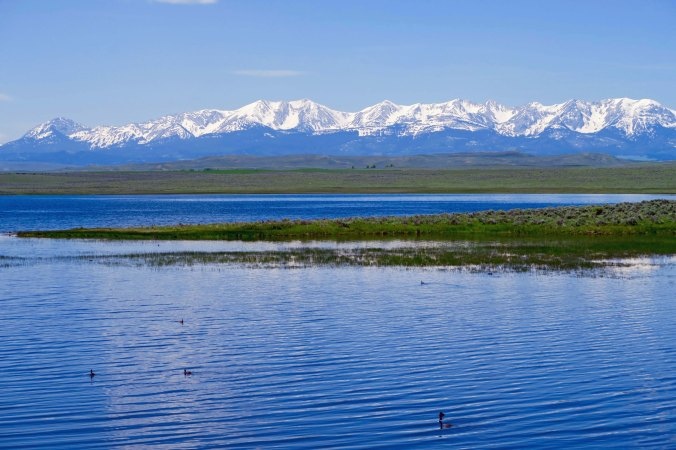 I would have to return to the west to get views like this. The Rocky Mountains would be waiting for me in Montana.
