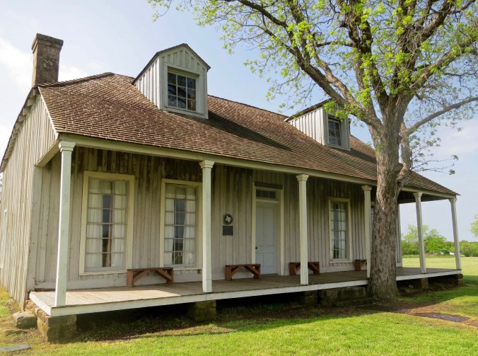 Fort Richardson was established just outside of Jacksboro, Texas in the late 1860s to counter the Native Americans who had gone on the warpath because their land was being taken away and the buffalo herds wiped out. This was the officer's quarters.