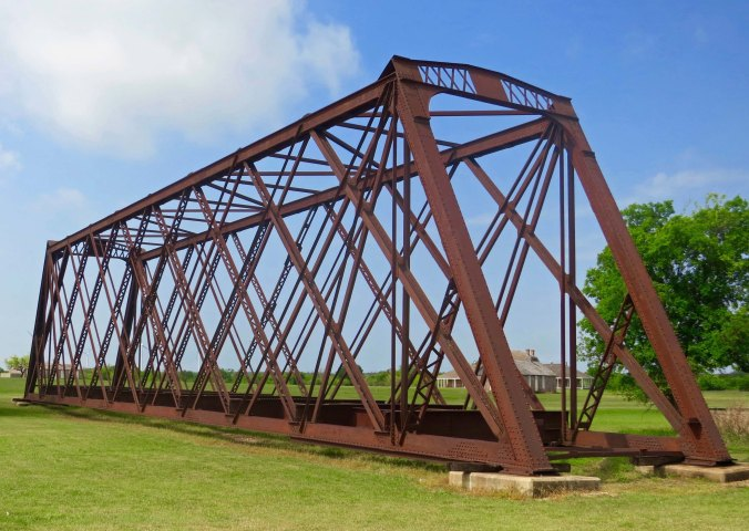 I really liked this bridge at the fort. Originally it had crossed a stream just behind the fort. Today it rests on what would have been parade grounds.
