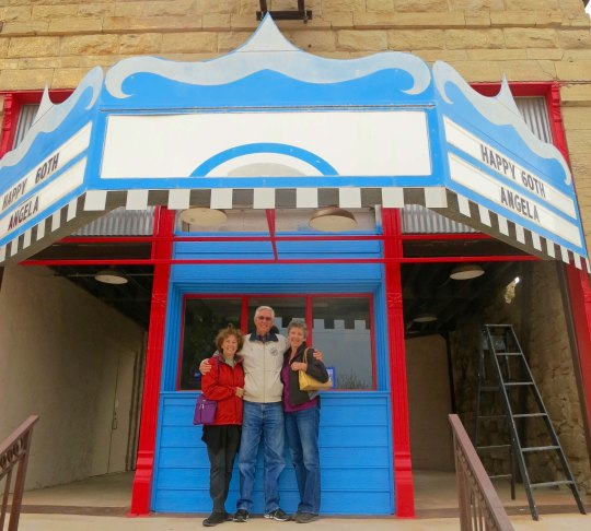 The Royal Theater in Archer City, Texas was used for the Last Picture Show