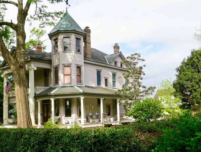 The city is known for its antebellum mansions.