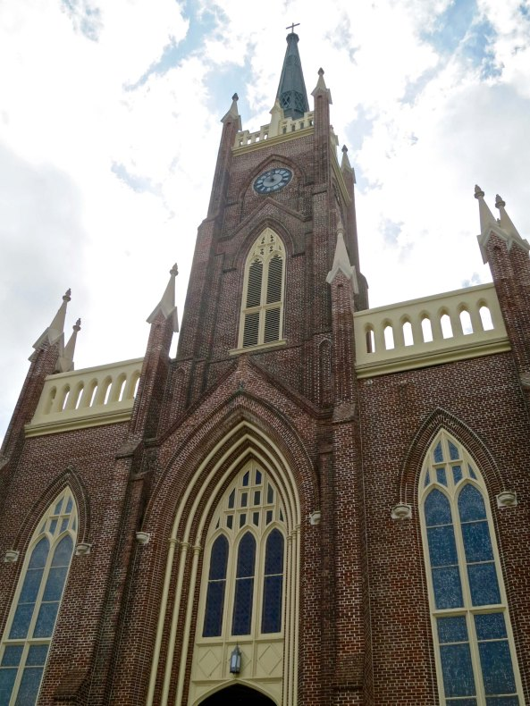 St. Mary's Catholic Church is located in downtown Natchez, Mississippi.