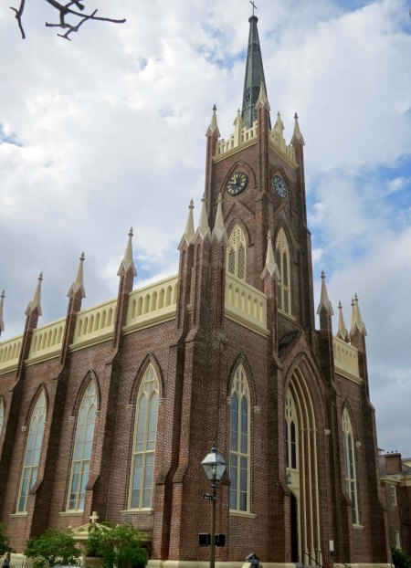 St. Mary's Catholic Church in downtown Natchez, Mississippi.