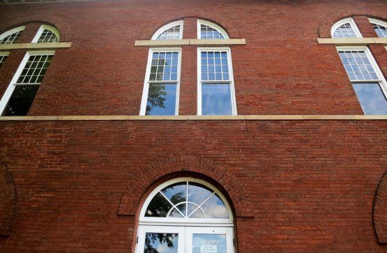 The architect who planned the Rhea County Courthouse where the Scopes trial took place designed the windows to look like crosses.