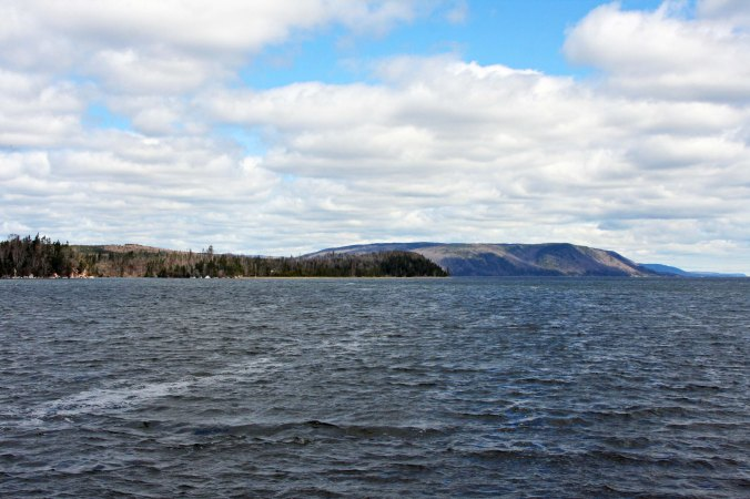 A view form the beginning of the Cabot Trail looking not toward the Cape breton Highlands.