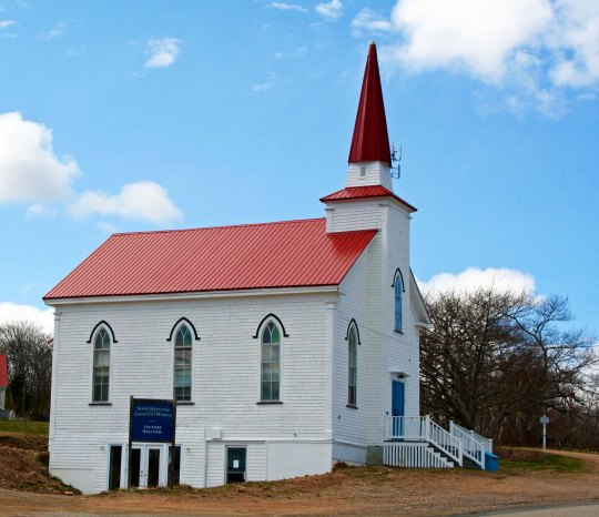 This church at North Bay marked my turning point. After this, I would be heading home.