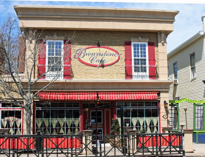 Antigonish is an attractive town with a number of eating establishments.