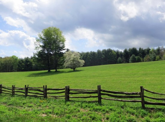 Farm on Blue Ridge Parkway.