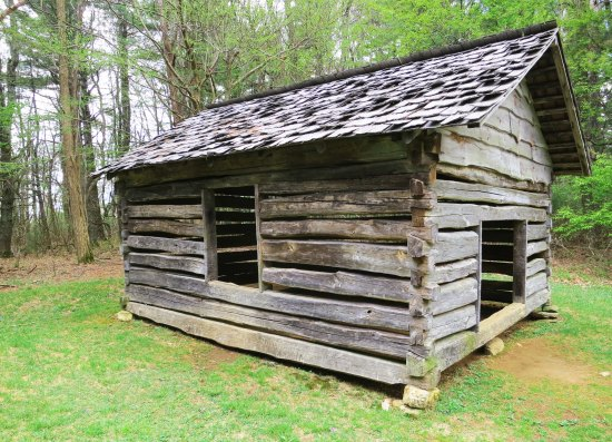 Cool Spring's Batist Church on the Blue Ridge Parkway.