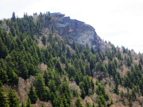 They call this outcrop the Devils Courthouse but I was hardput to see much that was devilish about it. Maybe on a foggy day...