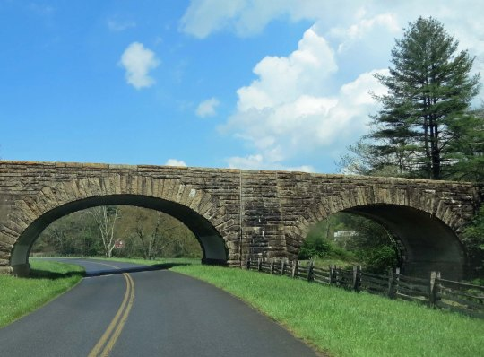 Bridge on the the Blue Ridge Parkway in Virginia.