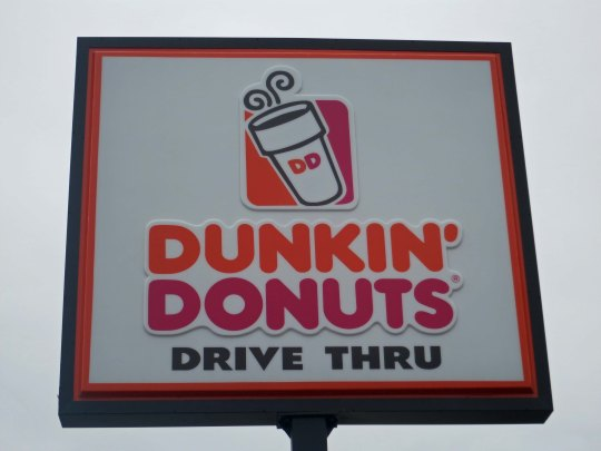 You might wonder why I would feature this Dunkin' Donuts sign I found outside of Bangor on the way to Bar Harbor. The reason is I never passed up a donut shop on my trip!