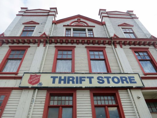 Salvation Army building in Yarmouth, Nova Scotia.