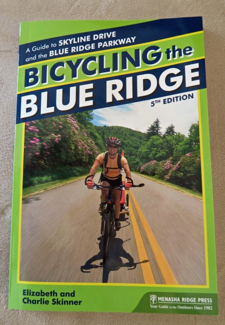This information packed book by Elizabeth and Charlie Skinner is the type of information you can find today on cycling the Parkway.