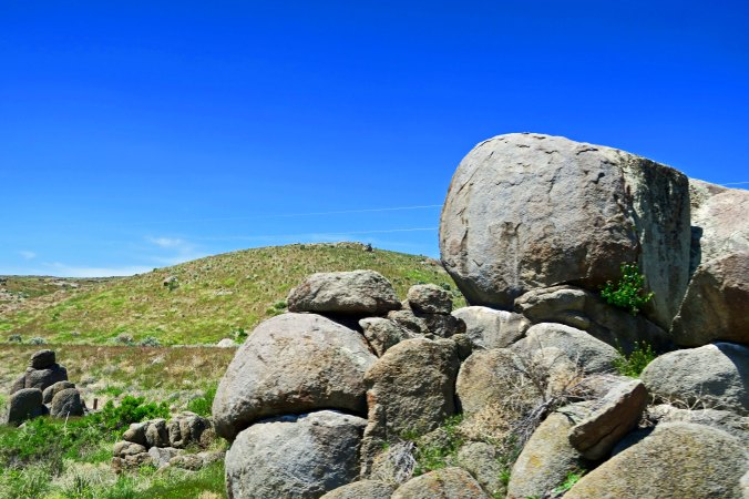 Nevada boulders
