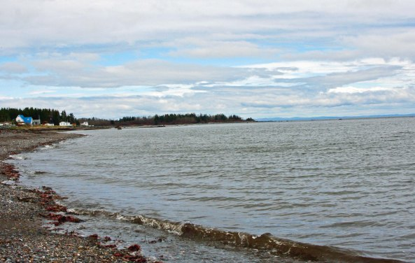 A number of Acadian towns were located along New Brunswick's north coast that borders on the Gulf of St. Lawrence and