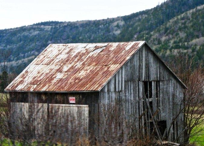 Old barns spoke of simpler times.